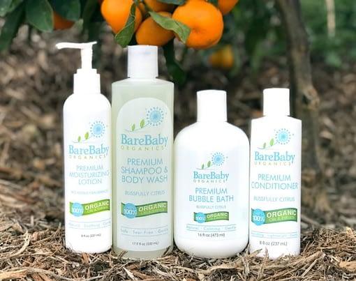 Lotion, shampoo & body wash, bubble bath & conditioner
